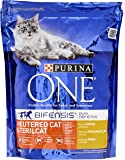 Purina ONE Neutered Cat Sterilcat Rich in Chicken and Wheat, 800g - Pack of 4