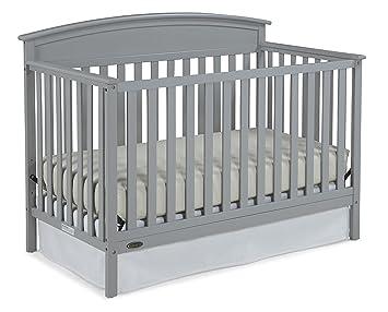 Charmant Graco Benton 5 In 1 Convertible Crib Pebble Gray