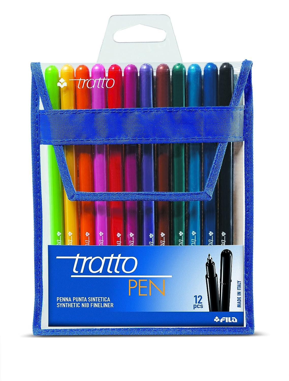 Tratto 807700 - Pen Busta 12 Pezzi FILA