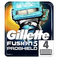 Gillette Fusion5 ProShield Chill Razor Blades, 4 Refills