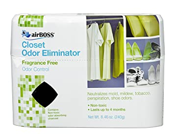 Merveilleux AirBOSS Closet Odor Eliminator (6)