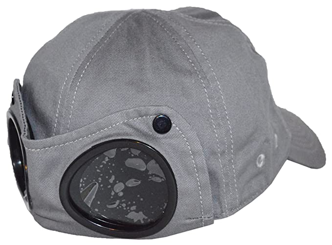 CP Company - Cappellino da baseball - Uomo Grey Medium  Amazon.it ... d87c90ef8451