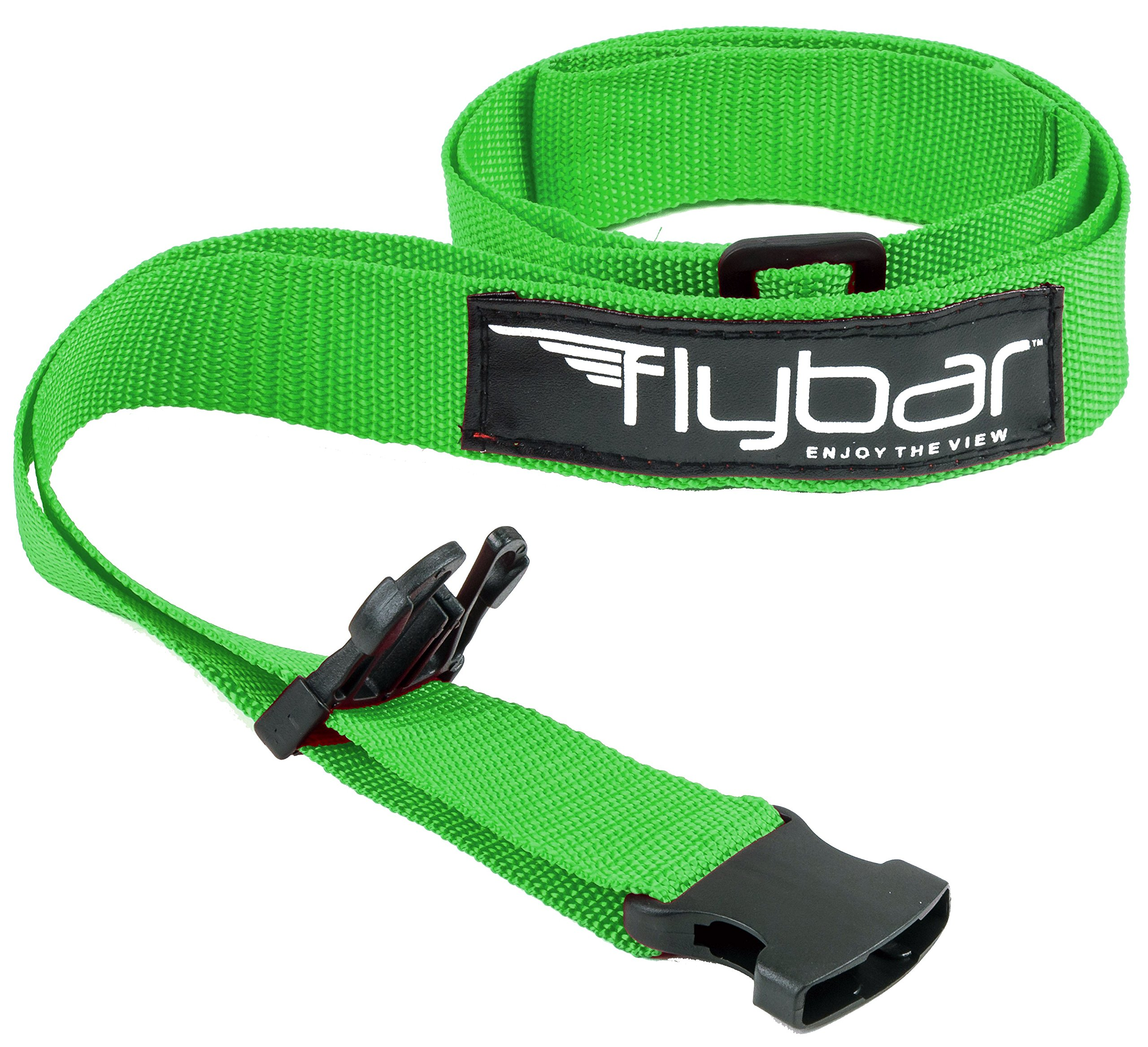 Flybar Foam Maverick Pogo Stick with Quick Clip Pogo Carry Strap (Green/Black - Green Strap) by Flybar (Image #2)