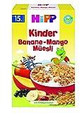 Hipp Bio-Kinder Banane-Mango-Müesli, 6er Pack (6 x 200 g)