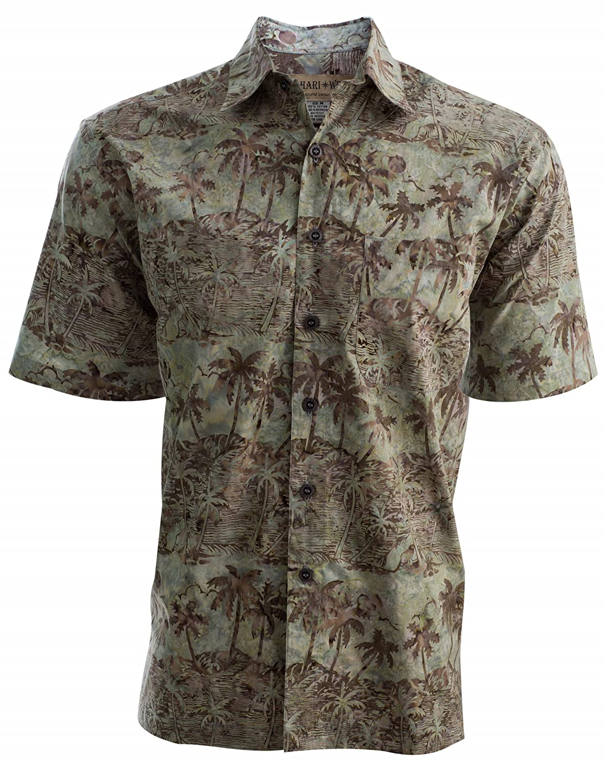 a1752f6cb7a7 HAND PRINTED BATIK DESIGN – Each shirt is individually printed by hand with  batik stamps in ...