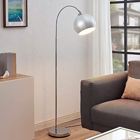 LED Design Tisch Leuchte Chrom Bogen Lampe Wohn Zimmer Lese Strahler schwenkbar