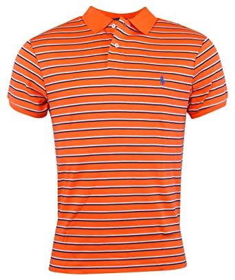 51b56d0450d Image Unavailable. Image not available for. Color  Polo Ralph Lauren Mens  Custom Fit Striped Polo Shirt - S ...