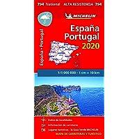 "Mapa National España - Portugal 2020 ""Alta Resistencia"" (Mapas National Michelin)"
