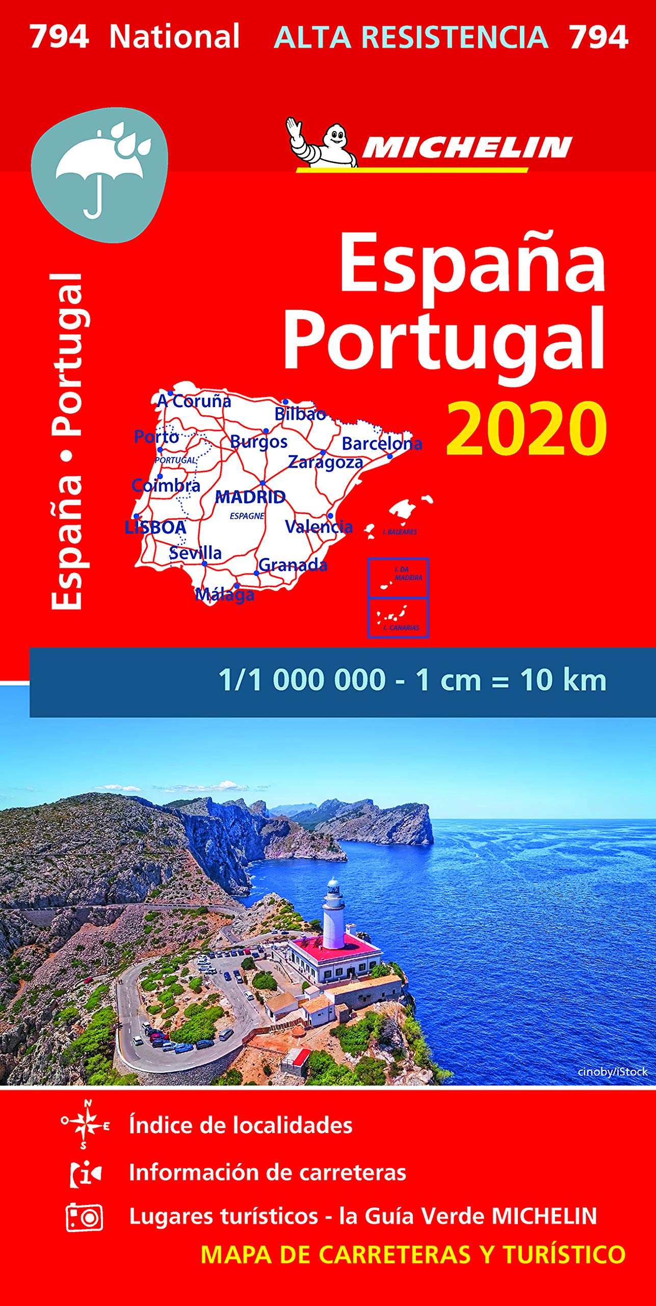 Mapa National España - Portugal 2020