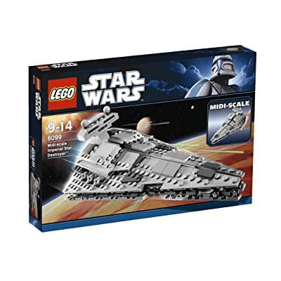 LEGO Star Wars Midi-Scale Imperial Star Destroyer (8099): Toys & Games