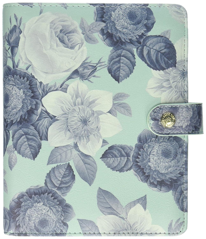 Carpe Diem Beautiful Mint Vintage Floral Personal Planner Boxed Set Simple Stories 7946