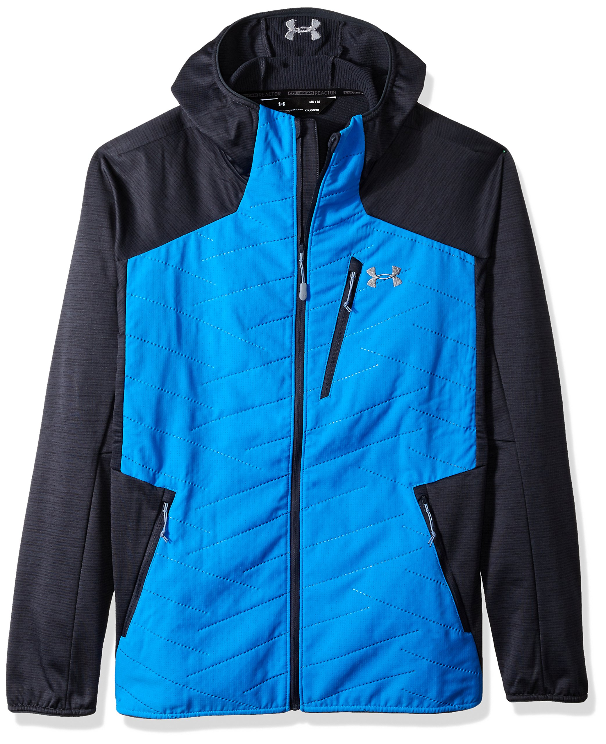 Under Armour Outerwear Under Armour Men's Reactor 3G Jacket, Mako Blue/Steel, Small