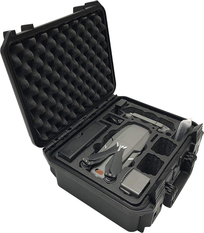 XTREME Maleta o Mochila para dji Mavic 2 Pro/Zoom con Incrustaciones para el dron, Fly More Kit y Muchos Accesorios (Maleta)