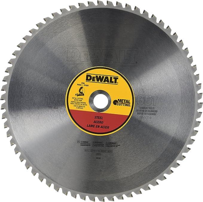 DEWALT 14-Inch Metal Cutting Blade, Ferrous Metal Cutting, 66-Tooth (DWA7747) - Jig Saw Blades - Amazon.com