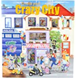 Trend 6519 - Create your Crazy City Malbuch mit Stickern