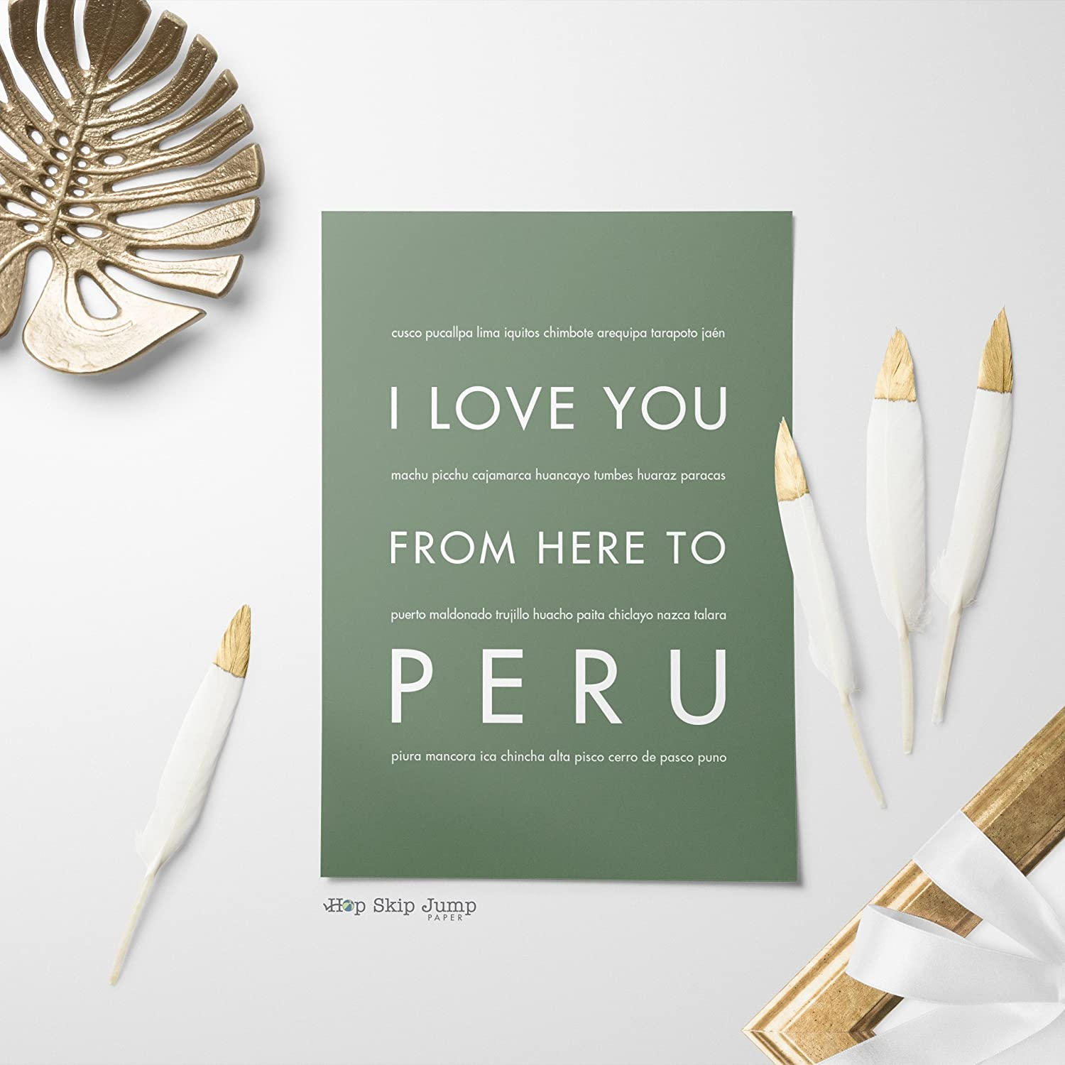 Amazon.com: Peru Unframed Art Print, Handmade Artisian Home ...