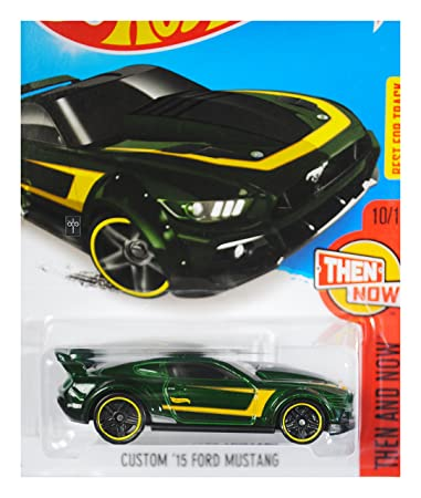 Amazon Com Hot Wheels Then And Now Custom Ford Mustang