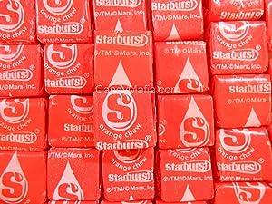 Orange Starburst Chewy Orange Starburst Candy 2lbs