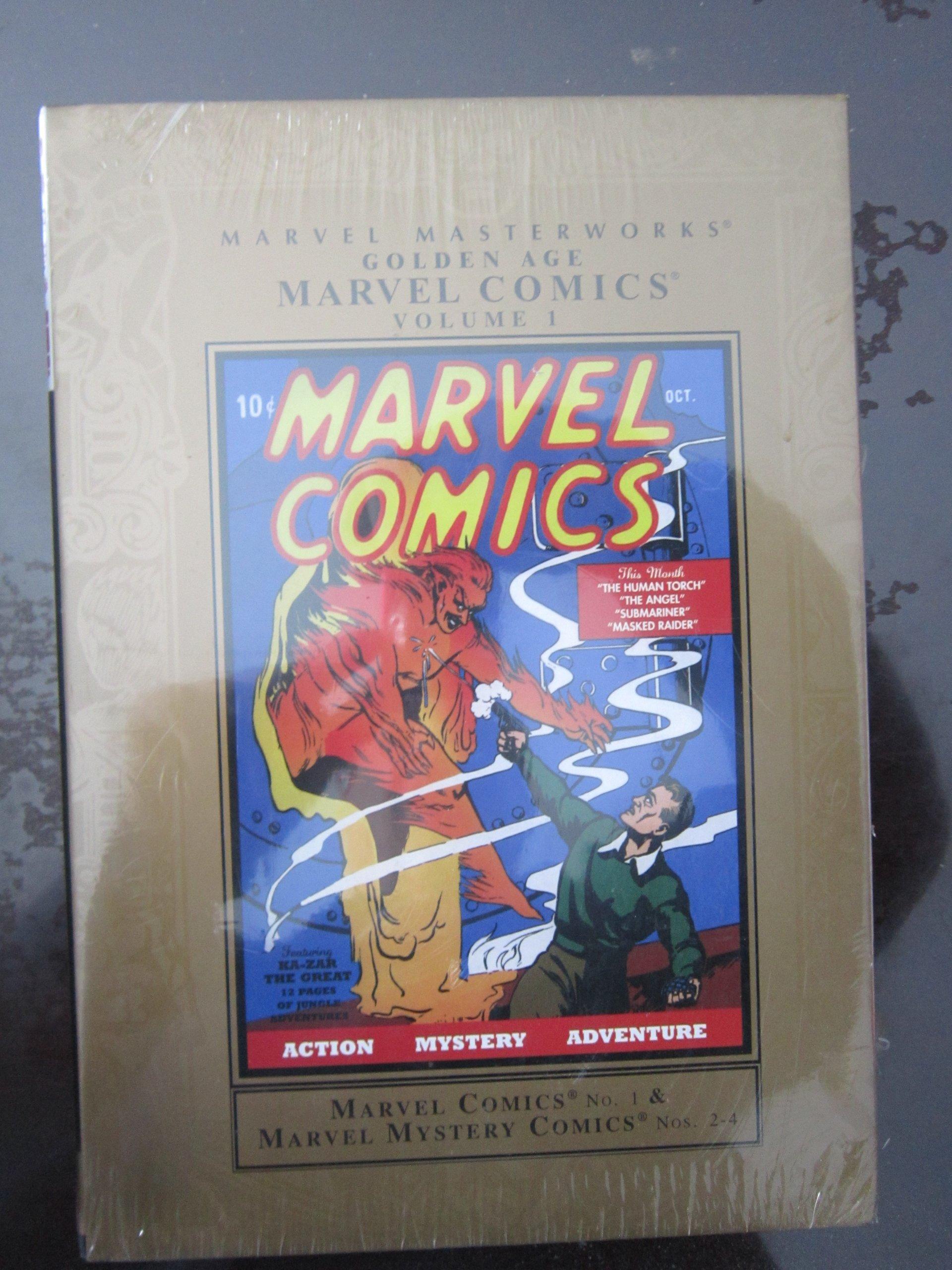 Read Online Marvel Masterworks: Golden Age Marvel Comics - Volume 1 pdf