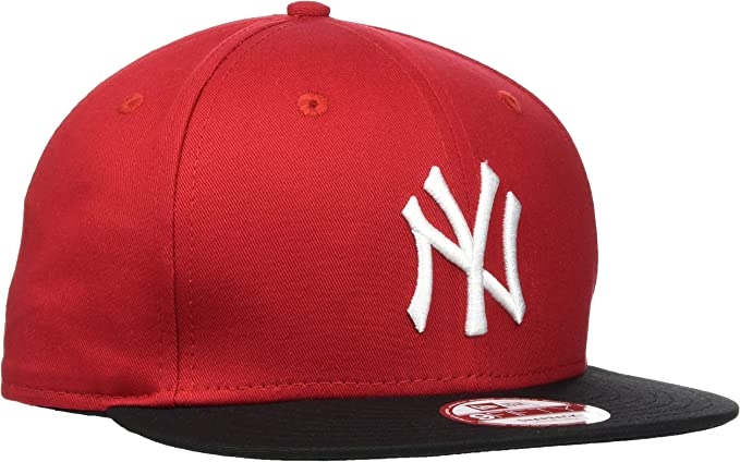 New Era MLB Cotton Block York Yankees Gorra de béisbol, Hombre ...