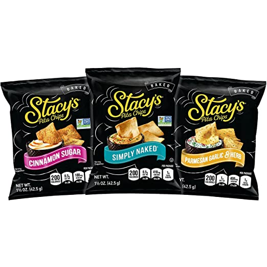 Stacy's Pita Chips Variety Pack, 1.5 Ounce (Pack Of 24) by Stacy's