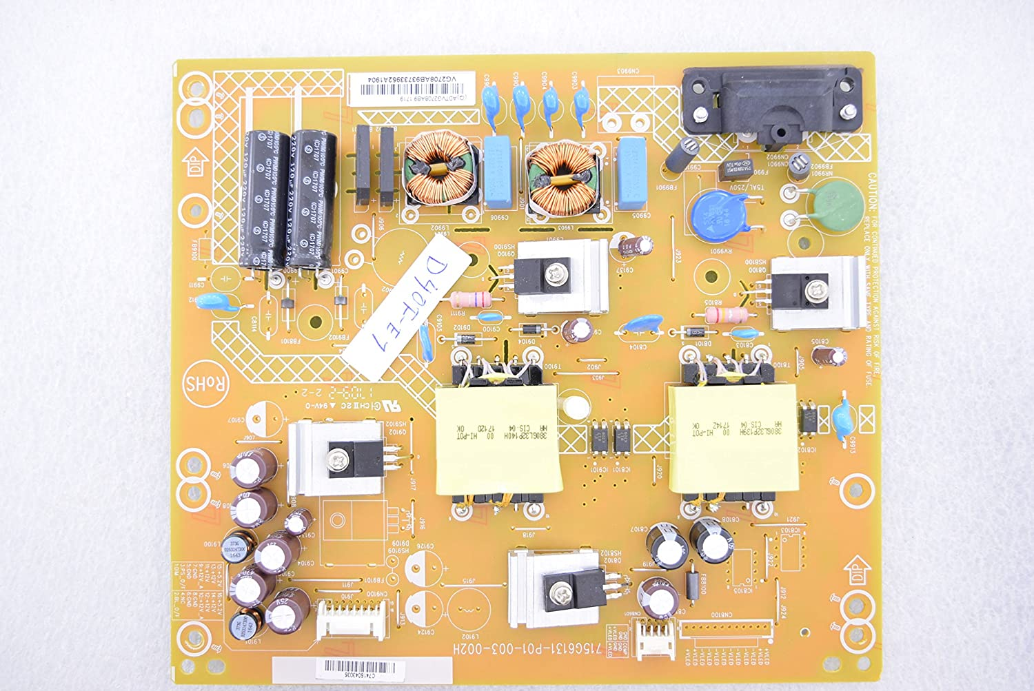 VIZIO D40F-E1 715G6131-P01-003-002H Power Supply 5607
