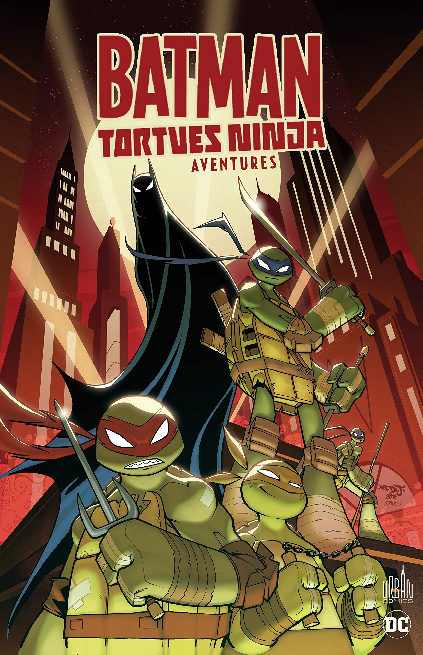 Batman et tortues ninja aventu - batman et les tortues ninja ...