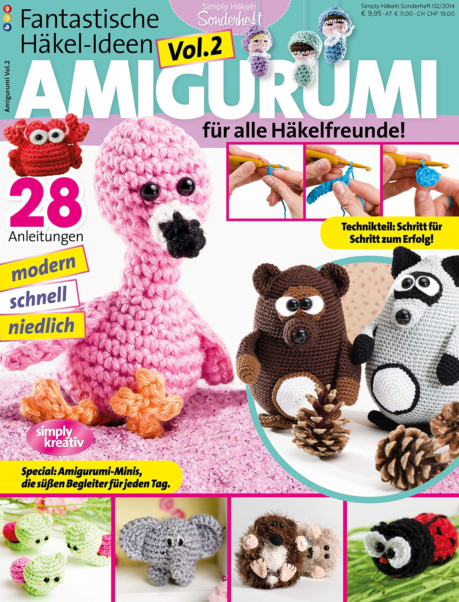 2 HEFTE AMIGURUMI Häkel-Spaß Extra Pack Nr. 2 - EUR 7,95 | PicClick DE | 2560x1954