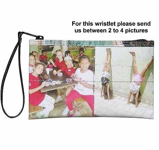 Amazon medium custom wristlet with your pictures printed on it medium custom wristlet with your pictures printed on it free shipping gift gifts for solutioingenieria Images