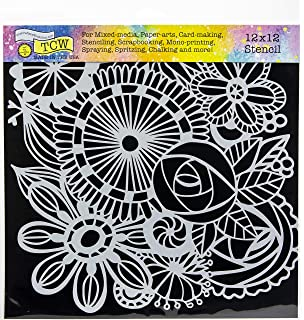 Tiny Circles Crafters Workshop TCW-361 TCW-361 Template 12 by 12-Inch