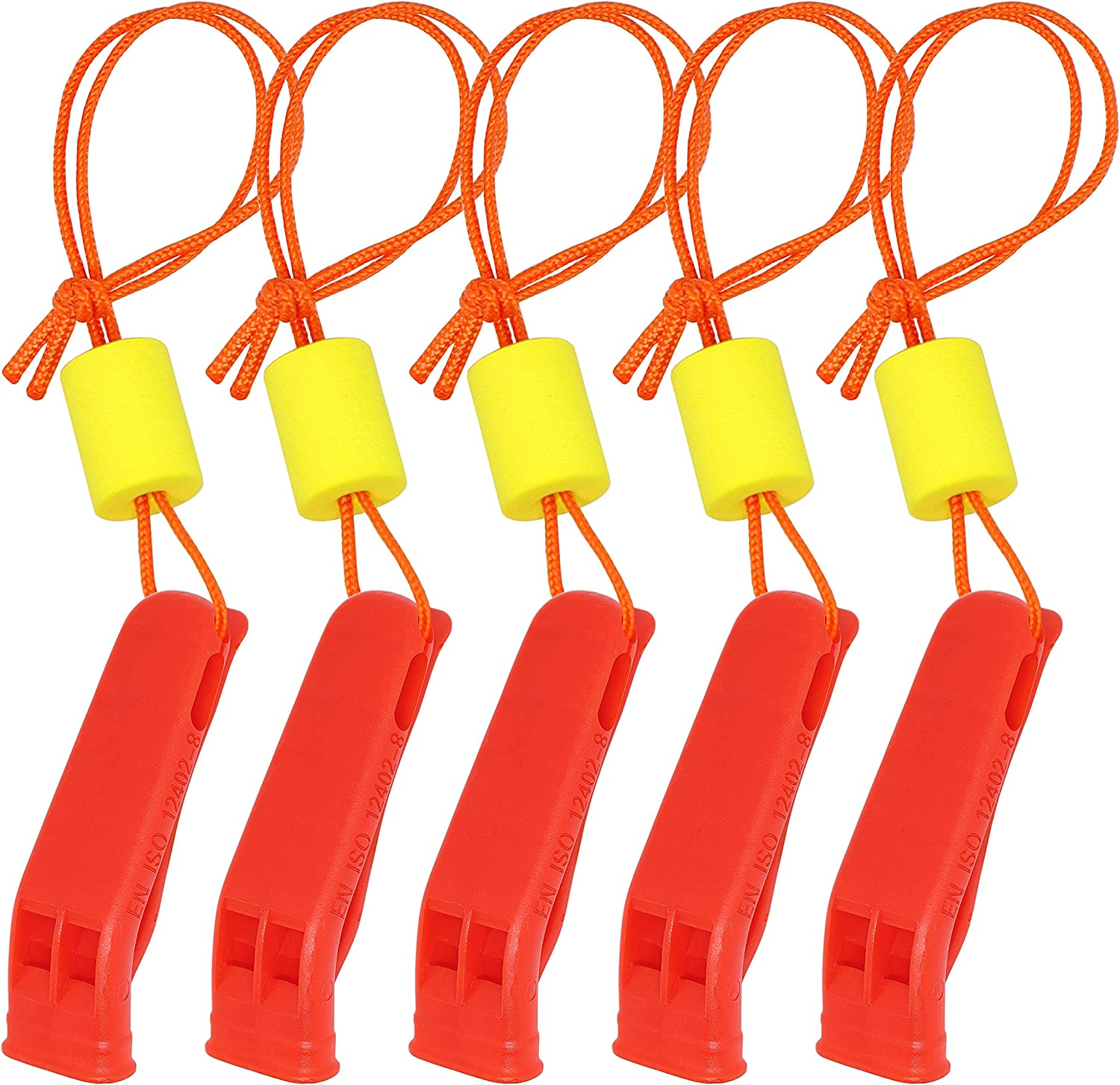 5x Safety Emergency Whistle Outdoor Camping Hiking Boat Survival Distress SK