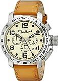 Stuhrling Original Men's 641.01 Monaco Analog Display Quartz Brown Watch