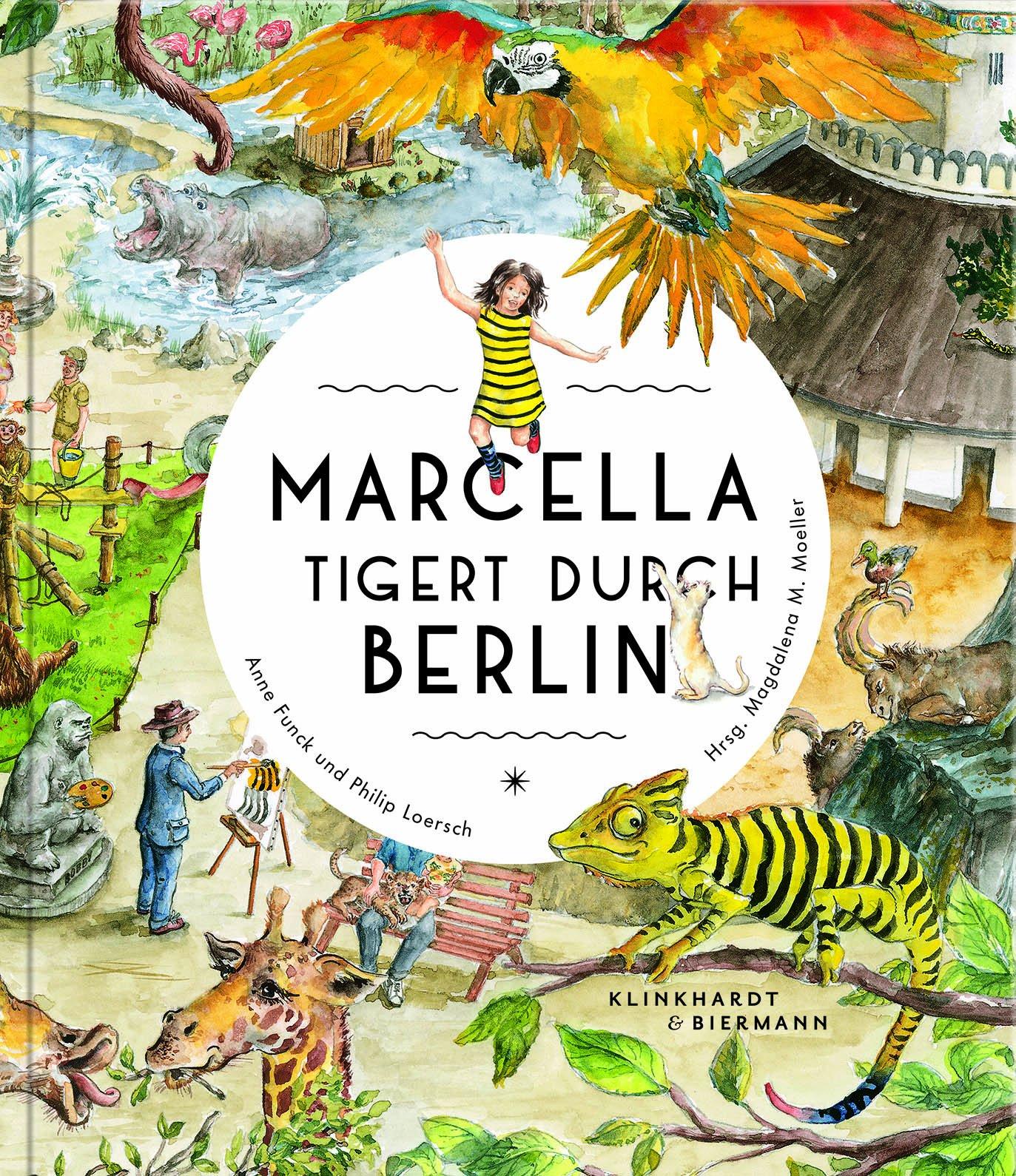 Marcella tigert durch Berlin