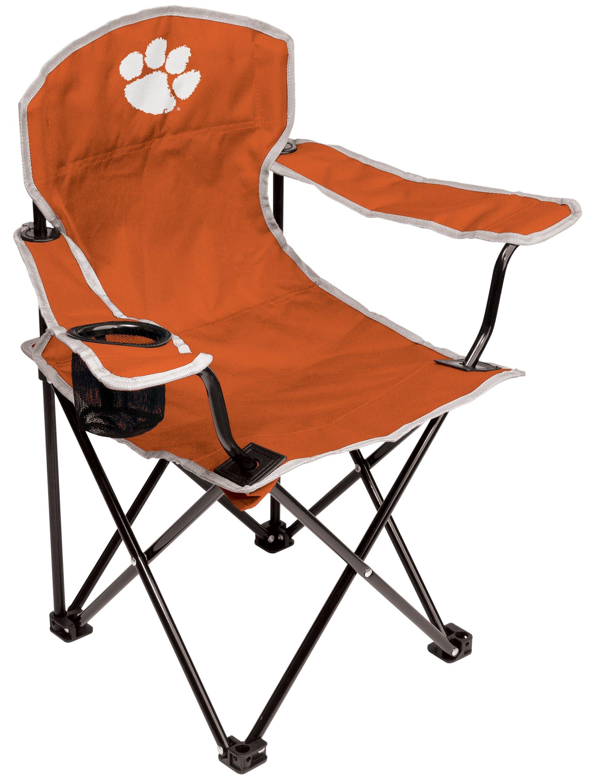 NCAA Clemson Tigers Youth Folding Chair, Orange