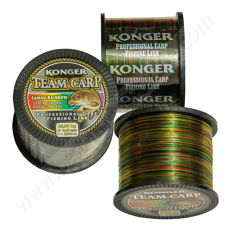 Mono Fishing Line Camo Rainbow 1000m Carp Big Game Pike Coarse Match Sea Konger