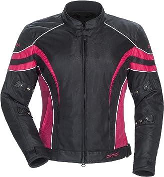 Cortech Black//Pink Womens Plus Medium LRX Air 2 Textile Mesh Motorcycle Jacket