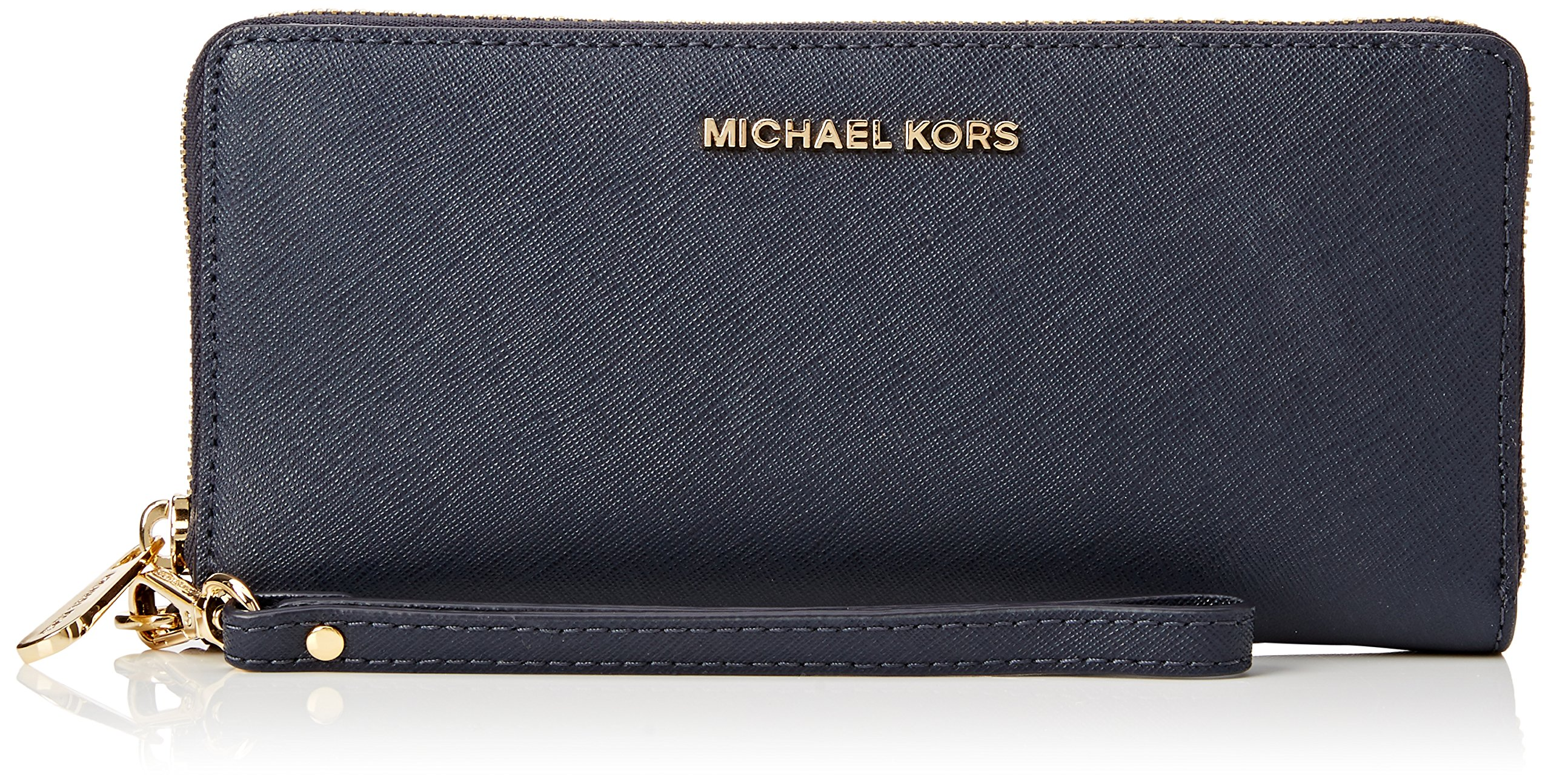 Michael Michael Kors Womens Michael Michael Kors Jet Set Large Leather Continental Wallet by Michael Kors