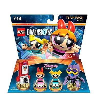 LEGO Dimensions, Powerpuff Girls, 4 Figuren: Video Games