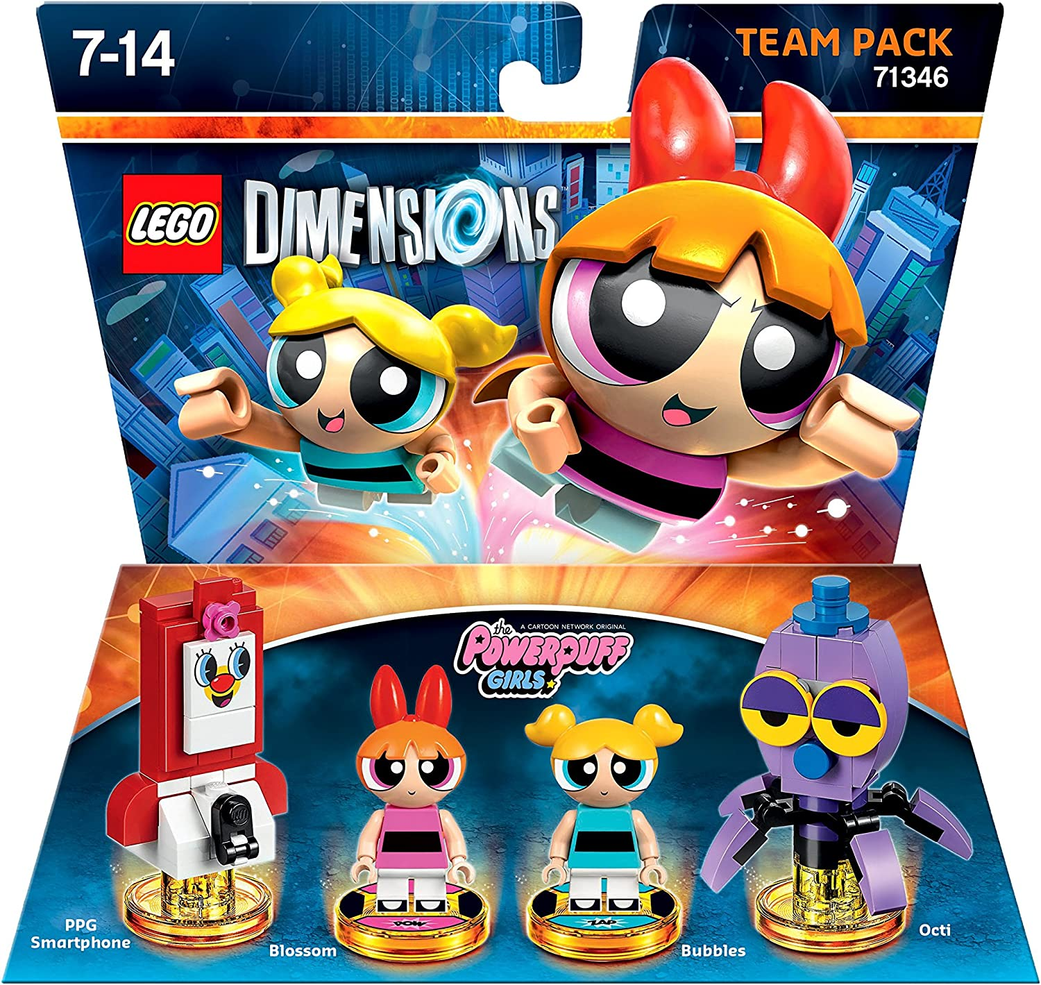 Warner - Las Supernenas (The Powerpuff Girls) [Team Pack]: Amazon.es: Electrónica