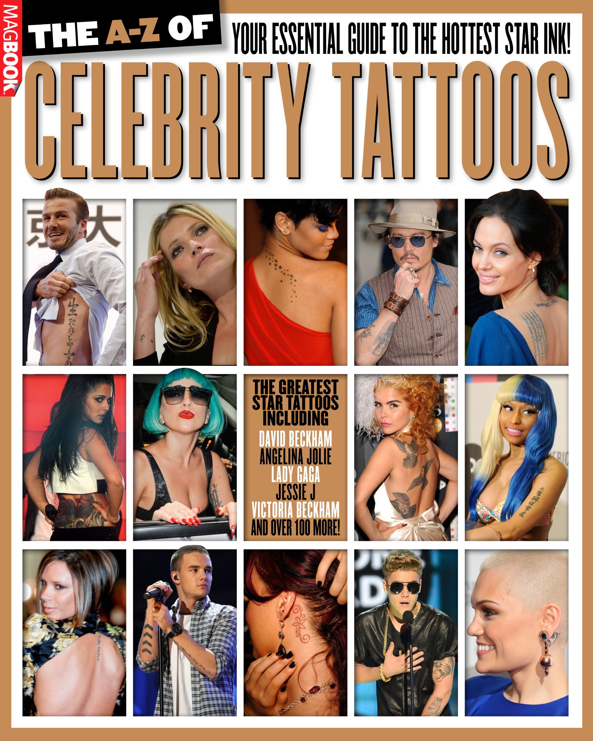 The A-Z of Celebrity Tattoos