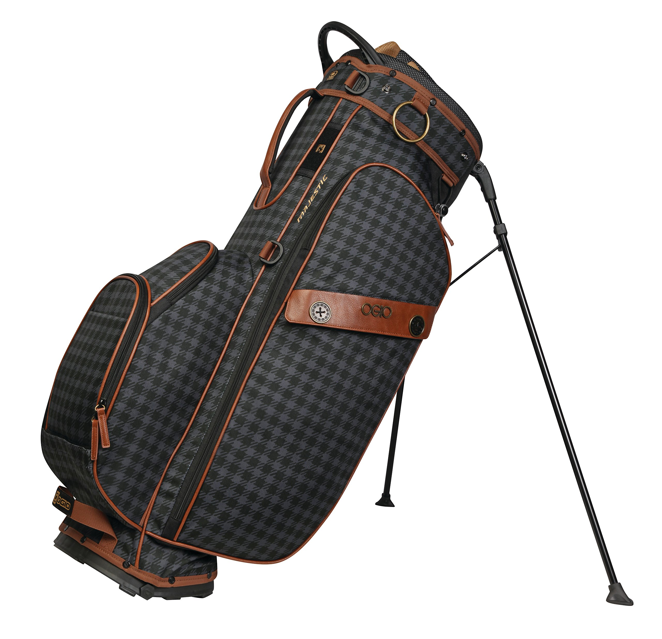 OGIO 2018 Majestic Stand, Brown Leather by OGIO