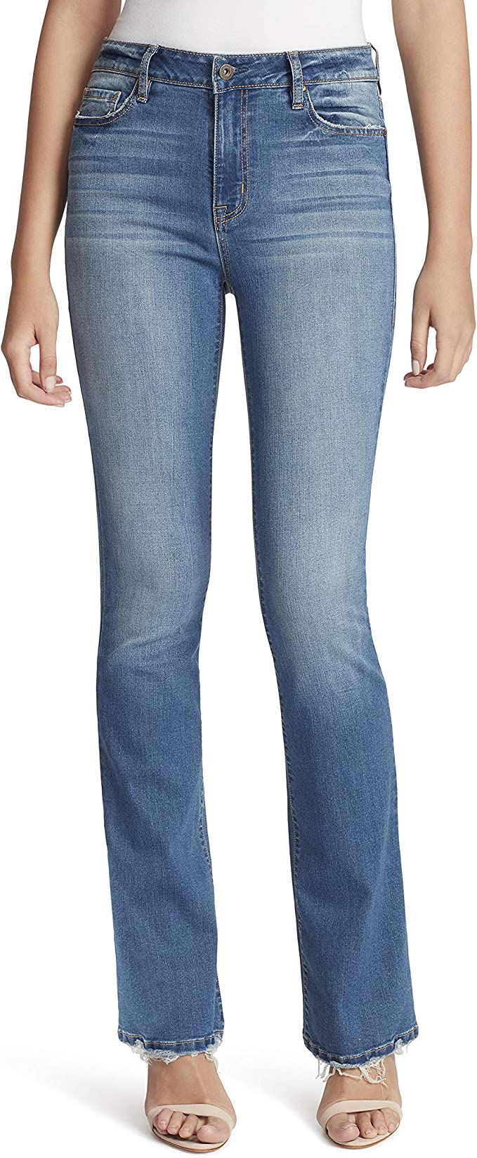 Jessica Simpson Women S Truly Yours Boot Cut Jean At Amazon Women S Jeans Store