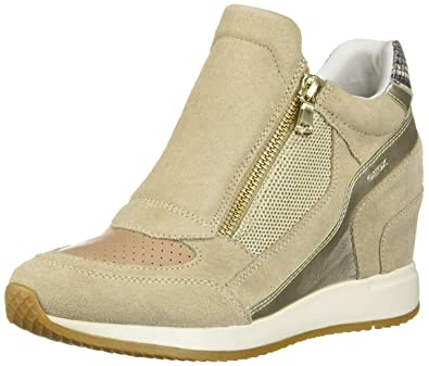 Geox Women's D Nydame a Hi Top Trainers