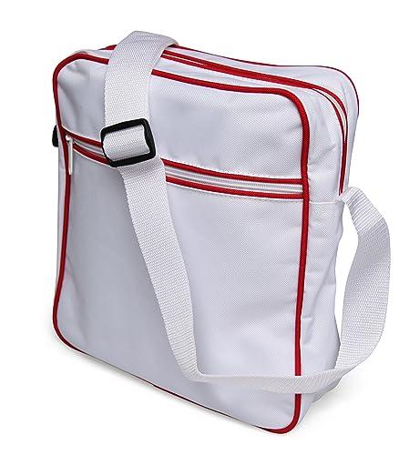 53724c7693153 styleBREAKER Retro Umhängetasche im 70er Jahre Flight Bag Design ...
