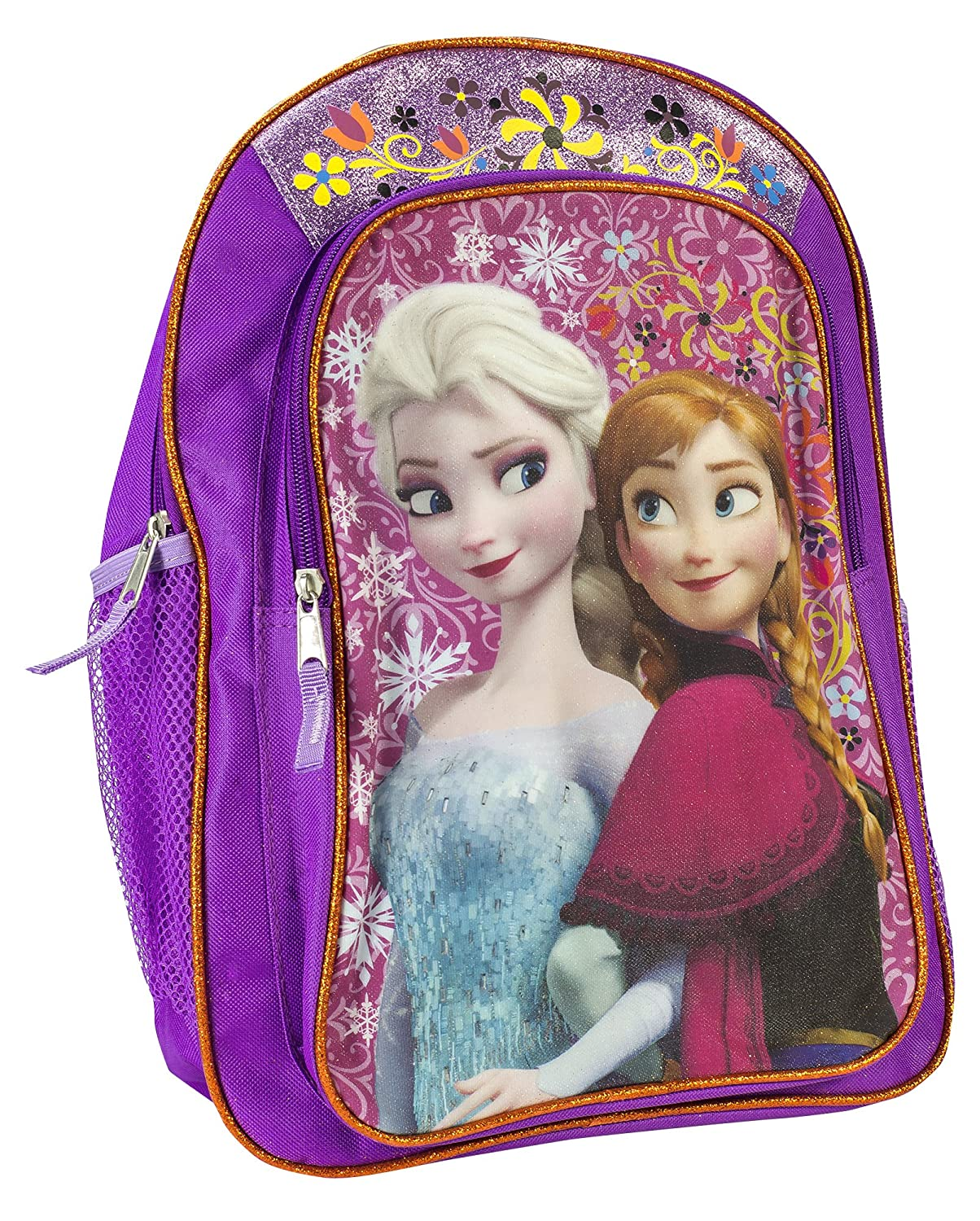 Fast Forward Disney Frozen Anna & Elsa Backpack