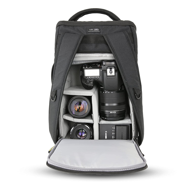 Vanguard VK 35BK - Mochila para cámara (22x14x35 cm) Color Negro ...