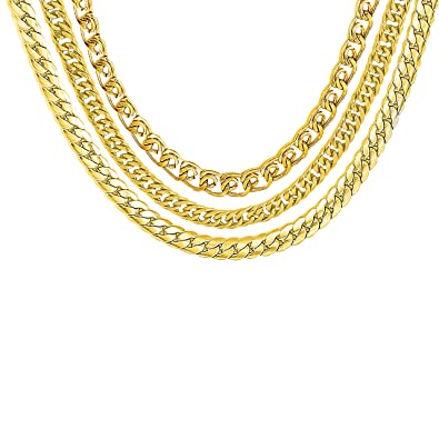 Buy Amaal Jewellery Set Latest Gold Combo Necklace Chains Chain