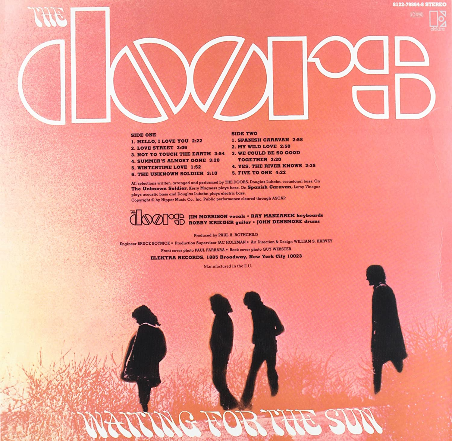 sc 1 st  Amazon.com & The Doors - Waiting for the Sun (180 Gram Vinyl) - Amazon.com Music