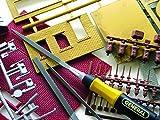 General Tools 707476 6-piece Swiss Pattern Chromium Alloy Steel Needle File Set