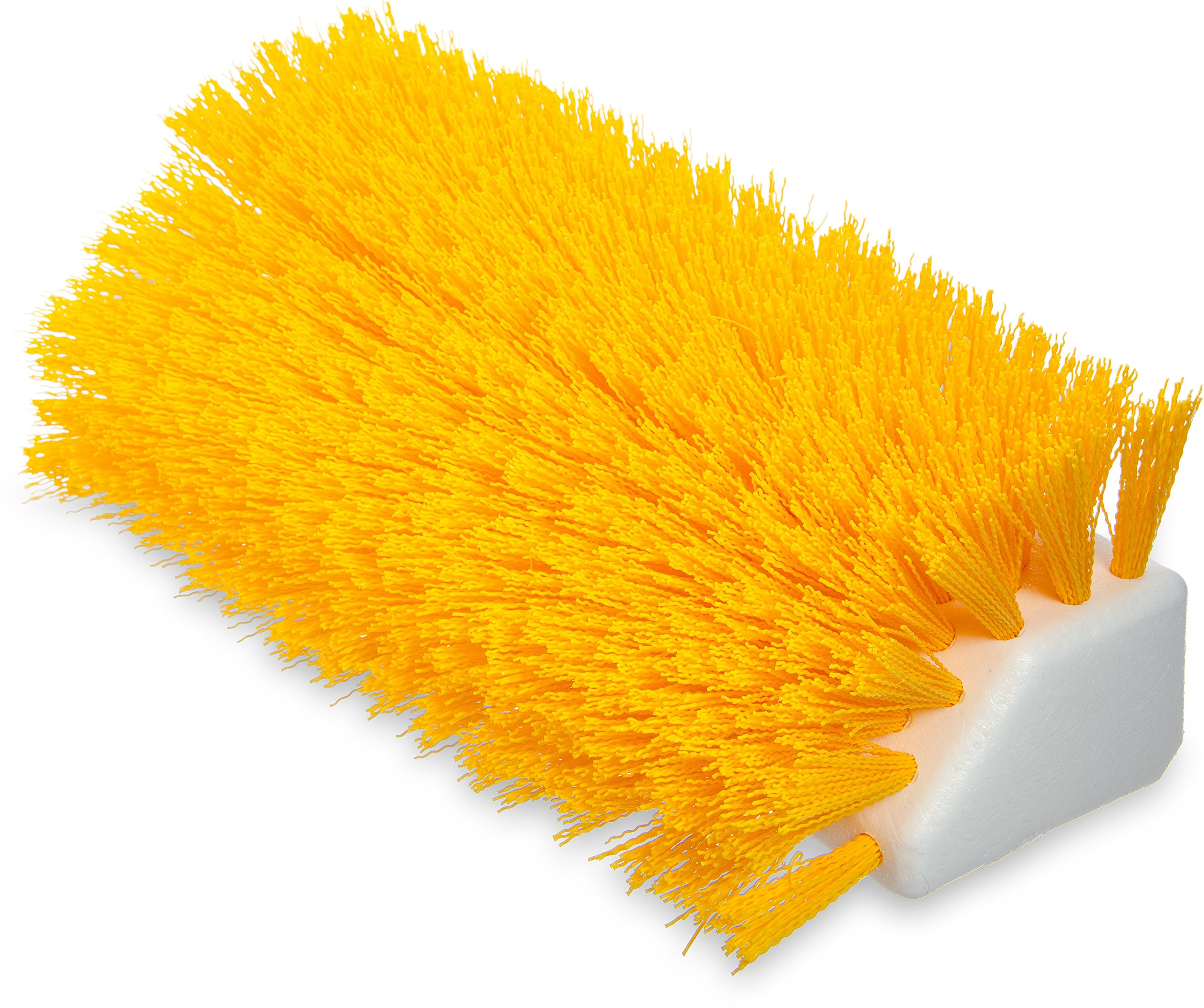 Carlisle 4042304 Hi-Lo Floor Scrub Brush, Yellow (Pack of 12)